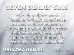Gandhi-sins