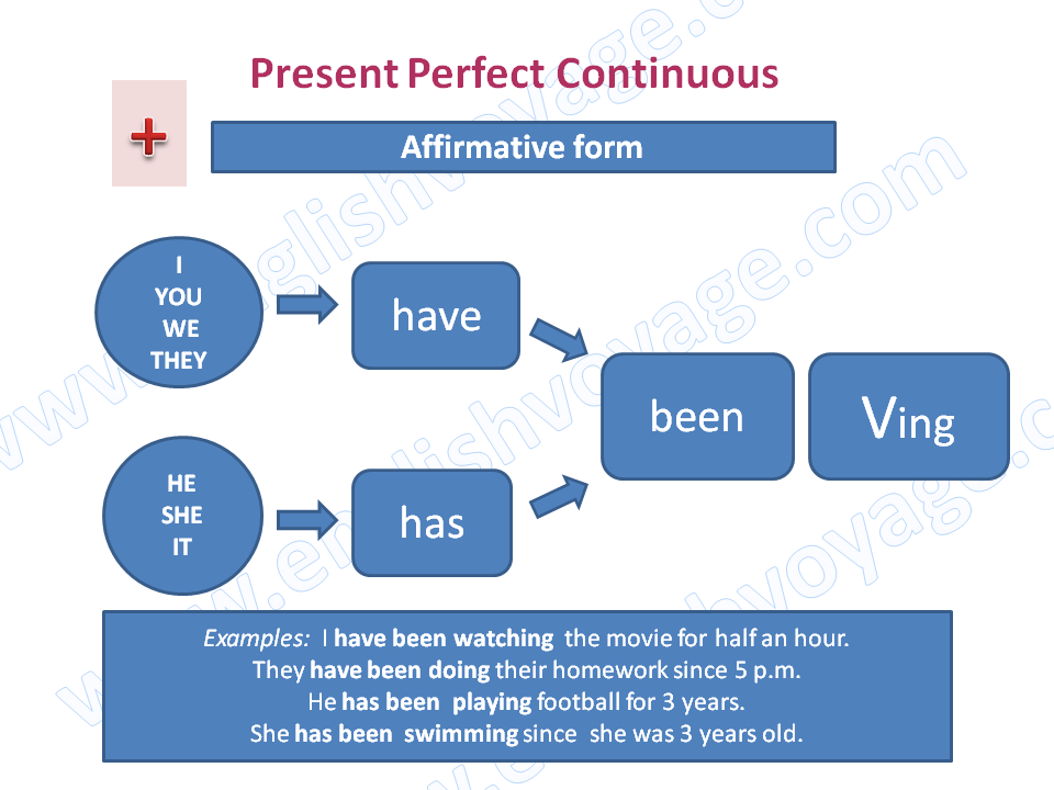 Present-Perfect-Continuous-Affirmative