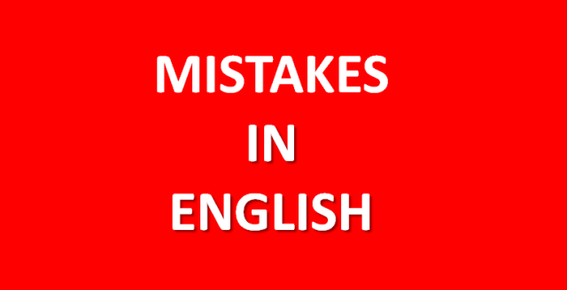 mistakesinenglish